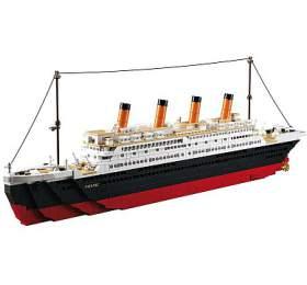SLUBAN stavebnice Titanic Big, 1018 dílků
