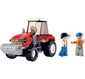 SLUBAN stavebnice Traktor, 103 dílků