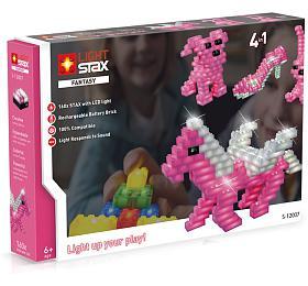 LIGHT STAX svítící stavebnice Fantasy sets -LEGO® -kompatibilní