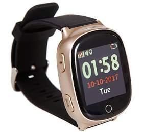 HELMER seniorské hodinky LK 705 s GPS lokátorem/ dot. display/ snímač srdečního tepu/ micro SIM/ IP65/ kom. s Andr., iOS