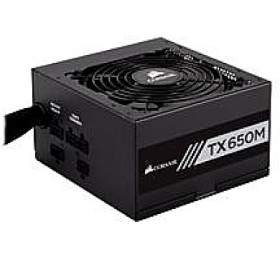 Corsair PC zdroj 650W TX650M semi-modulární 80+ Gold 120mm ventilátor