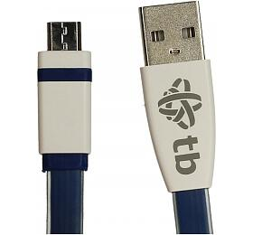 TB Touch Micro USB - USB Cable, 2m, blue