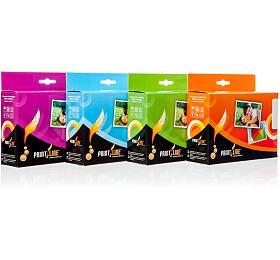 PRINTLINE Multipack kompatibilní sCanon CLI-551XL /pro iP7250, MG6350 /1 x22 ml+ 4x 11ml, C,M,Y,BK BK, čip