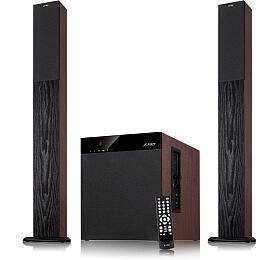 FENDA F&D repro T-400X/ 2.1/ 100W/ černé/ BT4.0/ NFC/ FMrádio/ USB/SD přehrávání/ dálkové ovládání/ Karaoke