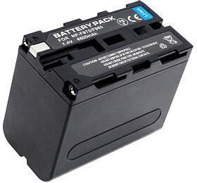 TRX baterie Sony/ 7200 mAh/ pro NP-F330/ NP-F550/ NP-F570/ NP-F770/ NP-F750/ NP-F930/ NP-F950/ NP-F960/ NP-F970 neorig.