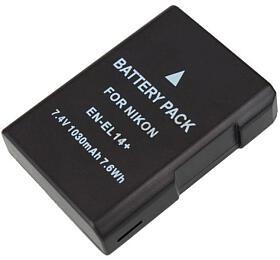 TRX baterie Nikon/ 1200 mAh/ pro Coolpix P7000/ P7100/ P7700/ P7800/ D3100/ D3200/ D5100/ neoriginální