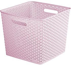 MY STYLE SQR box - růžový Curver