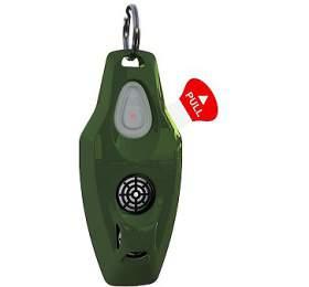 Zero Bugs Plus Ultrazvukový odpuzovač klíšťat ablech pro lidi, zelený
