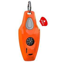 Zero Bugs Plus Ultrazvukový odpuzovač klíšťat ablech pro lidi, oranžový