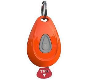 Zero Bugs ultrazvukový odpudzovač klíšťat ablech, oranžový
