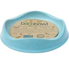 Miska pro kočku, BecoBowl-modrá, EKO BeCoThings