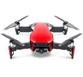 DJI kvadrokoptéra -dron, Mavic Air Fly More Combo, 4Kkamera, červený