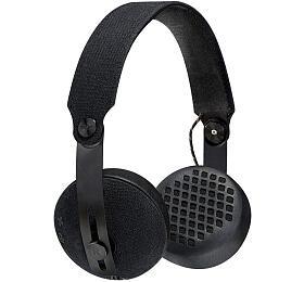 MARLEY Rise -Black, Bluetooth sluchátka přes uši sovladačem amikrofonem