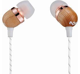 MARLEY Smile Jamaica -Copper, sluchátka douší sovladačem amikrofonem