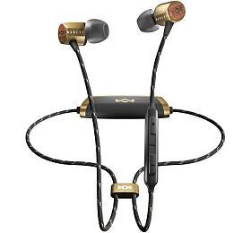 MARLEY Uplift 2Wireless BT- Brass, bezdrátová sluchátka douší sovladačem amikrofonem