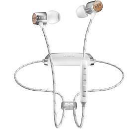 MARLEY Uplift 2Wireless BT- Silver, bezdrátová sluchátka douší sovladačem amikrofonem