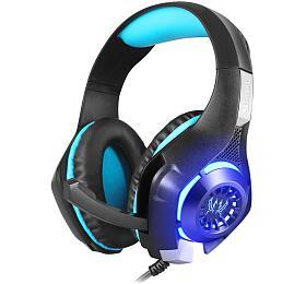 Sandberg herní sluchátka Headset Twister smikrofonem, černá
