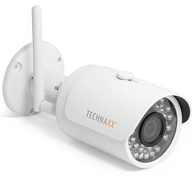 Technaxx bezpečnostní Bullet PRO WiFi IPkamera 1080P, indoor, outdoor