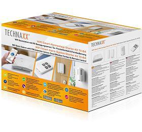 Technaxx bezpečnostní WiFi Smart kit, Základna, PIR snímač, dveřní,okenní kontakt, ovladač