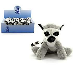 Lemur plyš 12cm 18ks vboxu