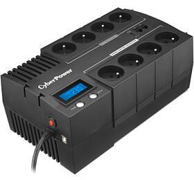 CyberPower BRICs LCD UPS 700VA/420W -české zásuvky