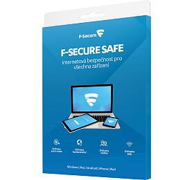 F-Secure SAFE pro 3zařízení na1 rok -elektronicky