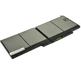2-Power baterie pro DELL Latitude E5550, 155000 7,4 V,6900mAh, 51Wh