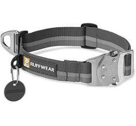 Ruffwear obojek pro psy, Top Rope Dog Collar, šedý, velikost M