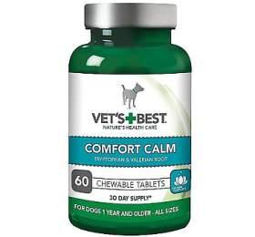 VET´S BEST Uklidňující žvýkací tablety pro psy, 60tablet