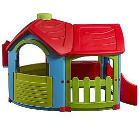 Dětský domeček Marian Plast TRIANGLE - 2 místnosti, lehce poškozený obal