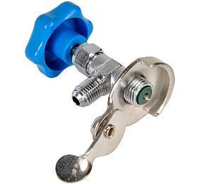 Odvzdušňovací ventil na klimatizaci červený, R134, BASS