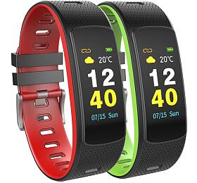 "UMAX chytrý náramek U-Band 116 HeartRate Color/ 0.96"" TFT/ Bluetooth 4.0+EDR/ IP67/ iOS 7.0 +/ Android 4.4 +/ barevný"