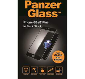 PanzerGlass Edge to Edge pro Apple iPhone 6/6S/7/8 plus černé