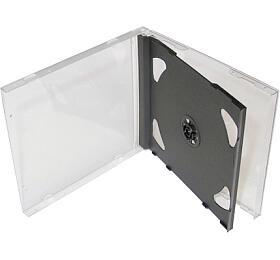 COVER IT Krabička na 2 CD 10mm jewel box + tray - karton 200ks