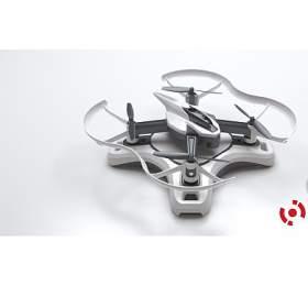 DRONE NBASE 2.0 kvadrokoptéra -dron, bílá
