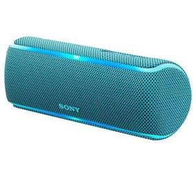 Sony SRS-XB21 přenosný bezdrátový reproduktor NFC, Bluetooth® a Extra Bass™, modrý