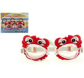 Plavecké brýle plast 14cm nakartě