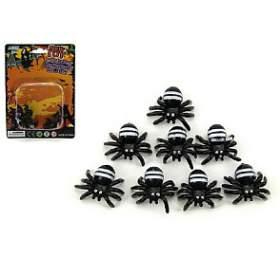 Pavouk mini plast 1,5cm 8ks nakartě