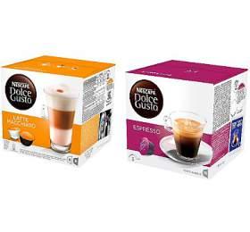SET Kapsle Espresso Dolce Gusto + Kapsle Latte Macchiatto Dolce Gusto