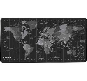 Natec Time Zone Map, 40x80cm