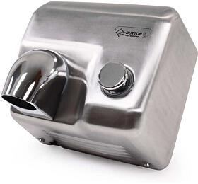 Jet Dryer BUTTON Stříbrný