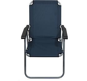 Židle kempingová skládací LYON tmavě modrá, CATTARA