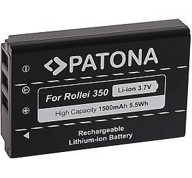 PATONA baterie pro foto Rollei Powerflex 350 Wifi, NP-120 1500mAh Li-Ion