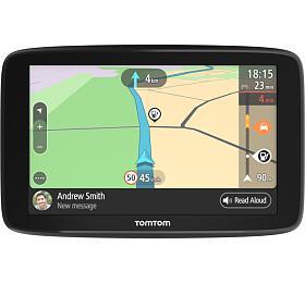 "TomTom GOBasic 6""Europe, Wi-Fi, LIFETIME mapy"
