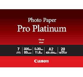 Canon fotopapír PT-101 Photo Paper PRO Platinum A2 20 sheets