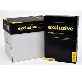 Kancelářský papír Exclusive AKVALITA -A4, 80g, bílý, 500 listů -CERTIFIKÁT BĚLOSTI