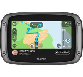 TomTom Rider 500 Europe pro motocykly, Wi-Fi, LIFETIME mapy