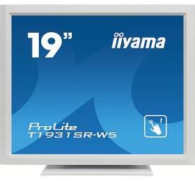 iiyama T1931SR-W5 - TN,SXGA,5ms,250cd/m2, 1000:1,5:4,VGA,HDMI,DP,USB,repro,výška.