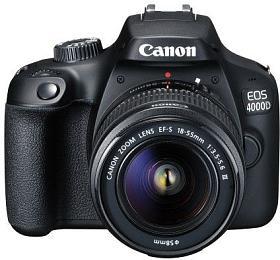 Canon EOS 4000D + 18-55 + brašňa + 16GB