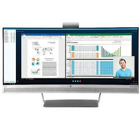 HP EliteDisplay S340c / 34'' 3440x1440 VA wLED / 300cd / 3000:1 / 6,1ms / HDMI, DP, USB3, USB-C / 4x7W repro / 3/3/0